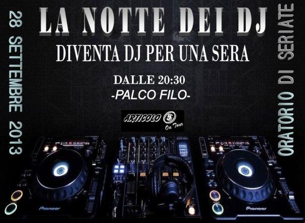 La notte dei DJ - Articolo 5